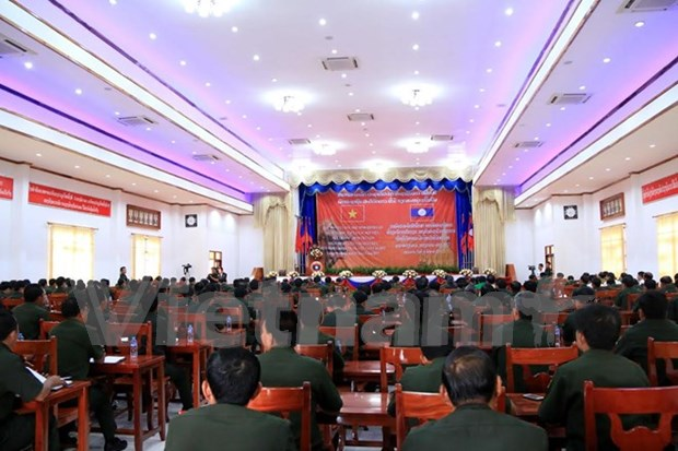 Get-together for former Lao military students in Vietnam hinh anh 1