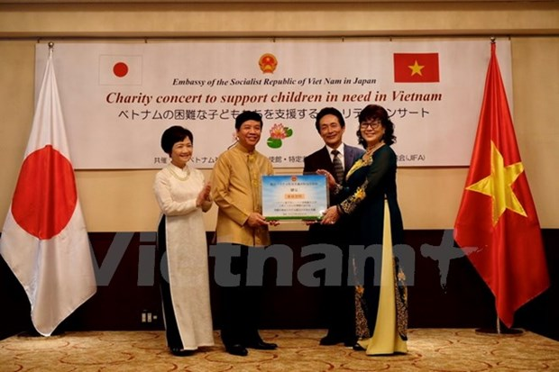 Charity concert honours support for Ha Tinh children hinh anh 1