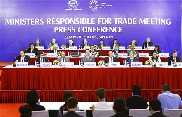 APEC ministers advocate free and fair trade hinh anh 1