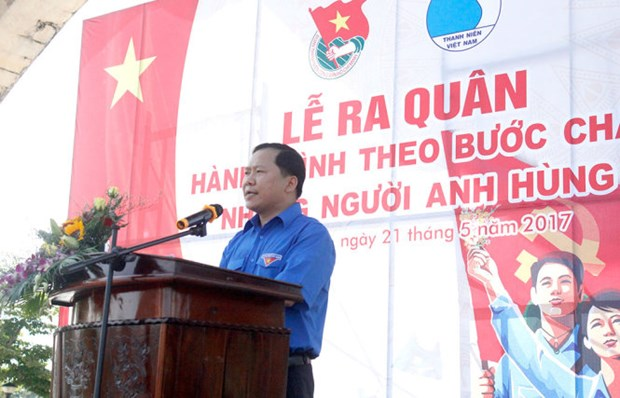 Youth programme honouring war heroes kicks off in Quang Nam hinh anh 1