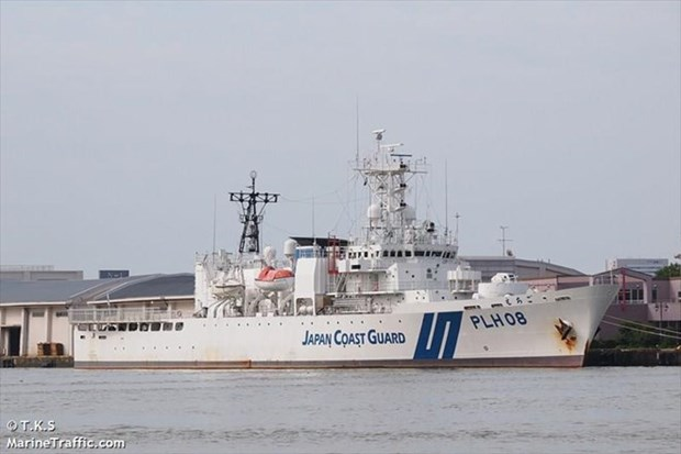 Japan Coast Guard vessel to join anti-piracy drill in Vietnam hinh anh 1