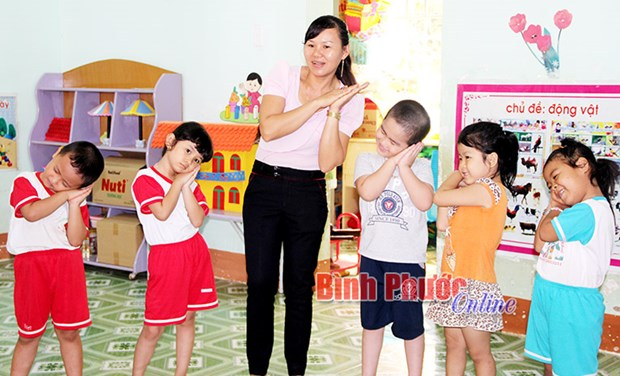 Binh Phuoc fulfills universal education for five-year-olds hinh anh 1