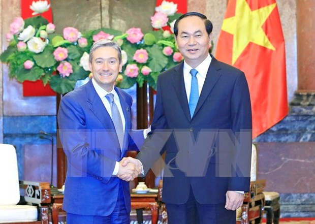 President lauds relations with Canada hinh anh 1