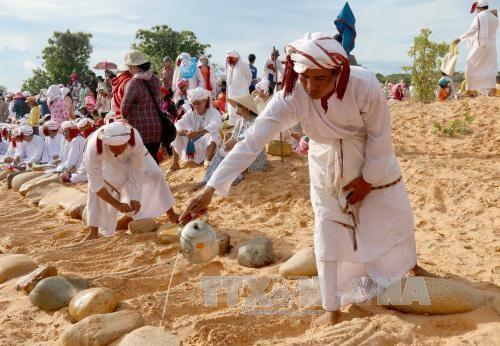 Ninh Thuan: Muslim Cham people busy preparing for Ramuwan hinh anh 1