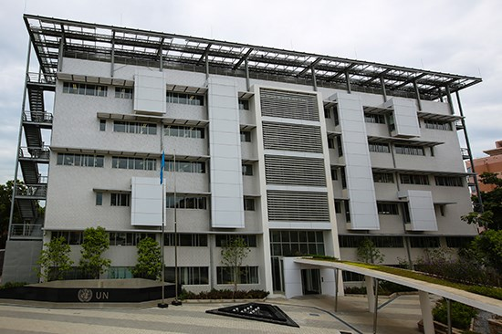 Hanoi-based UN office gets top green buildings award hinh anh 1