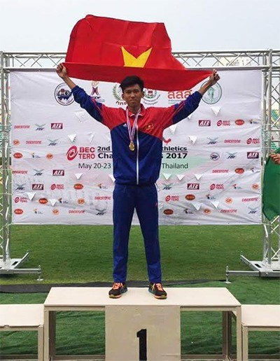 Vietnam wins three silvers at Asian Youth Athletics Champs hinh anh 1