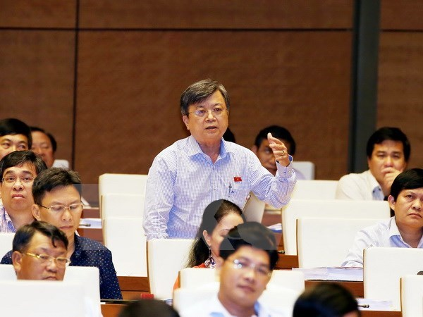 National Assembly continues plenary session hinh anh 1