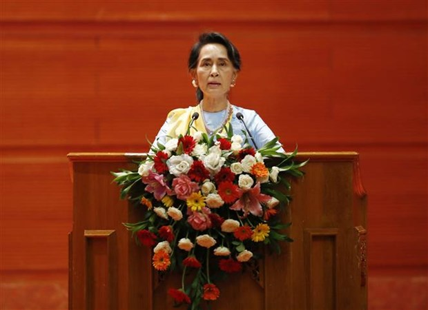 Myanmar kicks off second peace conference hinh anh 1