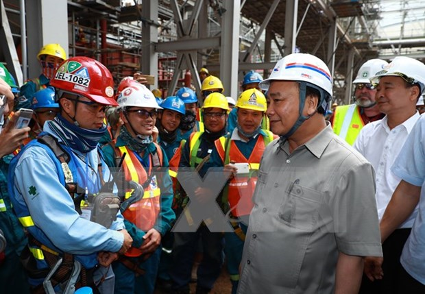 Thai Binh 1 thermal power plant joins national grid hinh anh 1