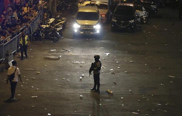 No Vietnamese hurt in Jakarta blasts hinh anh 1