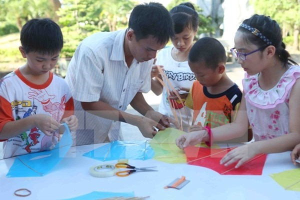 Children festival highlights Italian culture hinh anh 1