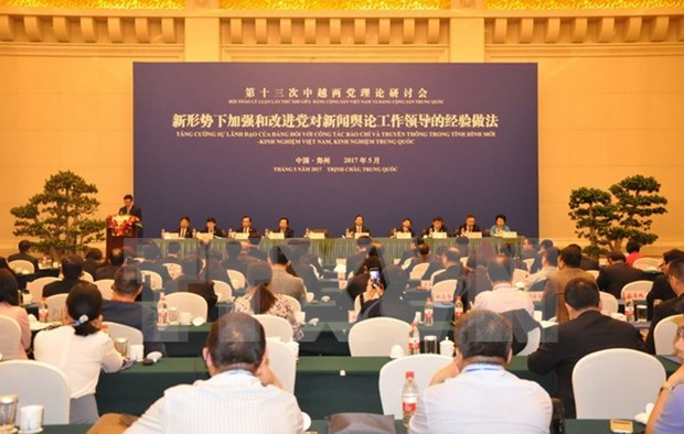 Vietnam, China hold 13th theoretical workshop hinh anh 1