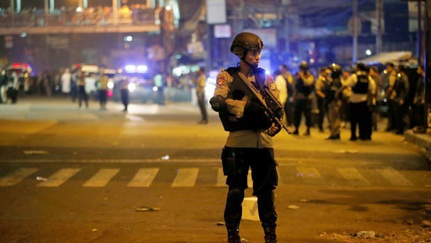 Indonesia: Jakarta suicide bombing suspects identified hinh anh 1