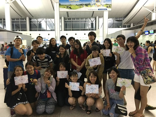 Vietnam, Japan exchange project 2017 kicks off hinh anh 1