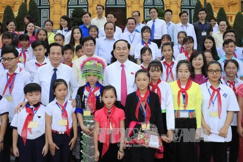 President urges better care for disadvantaged children hinh anh 1