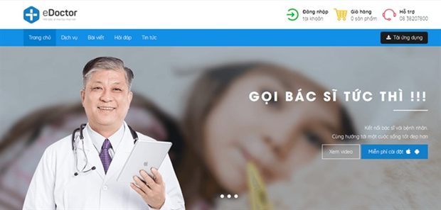 VN's doctor consulting app gets Google sponsor package hinh anh 1