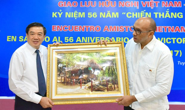 Cuba's Giron victory marked in Tuyen Quang hinh anh 1