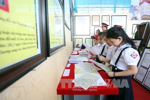 Hoang Sa – Truong Sa exhibition goes to Bac Kan hinh anh 1