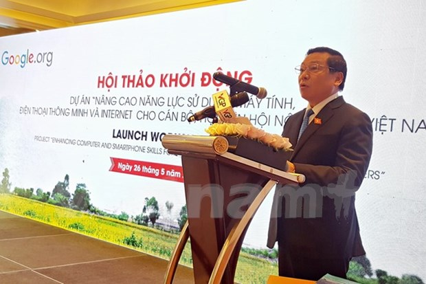 Google-funded project to enhance IT skills for 30,000 farmers hinh anh 1
