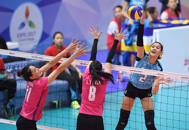 Vietinbank wins first match at Asian club champs hinh anh 1