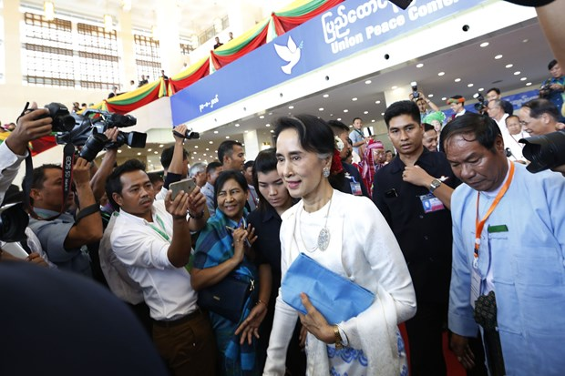 Myanmar's peace conference extends for one more day hinh anh 1