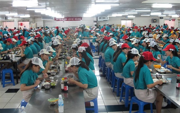 Underpaid labourers choose to work overtime hinh anh 1