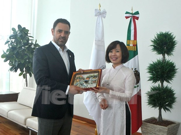 Mexican state wants to bolster all-round ties with Vietnam hinh anh 1