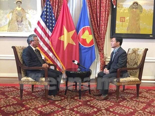 Increasing visits show growing Vietnam-US ties: ambassador hinh anh 1