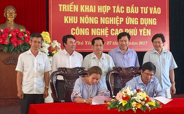 Lam Dong-based firms invest in Phu Yen hi-tech AZ hinh anh 1
