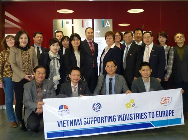 EU-funded project improves Vietnam's support industry hinh anh 1