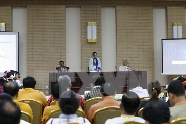 Myanmar's peace conference agrees on 37 principles hinh anh 1