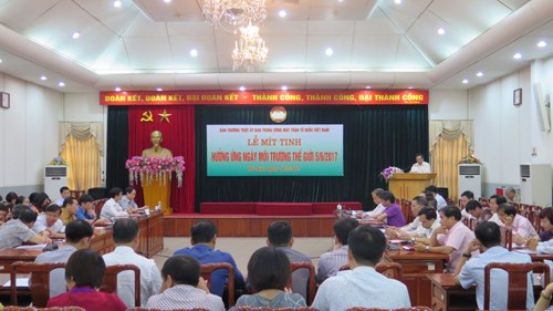 Fatherland Front urges environment protection hinh anh 1