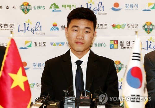RoK team Gangwon to play in friendly with HCM City hinh anh 1