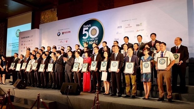 Forbes names market's 50 best listed companies hinh anh 1