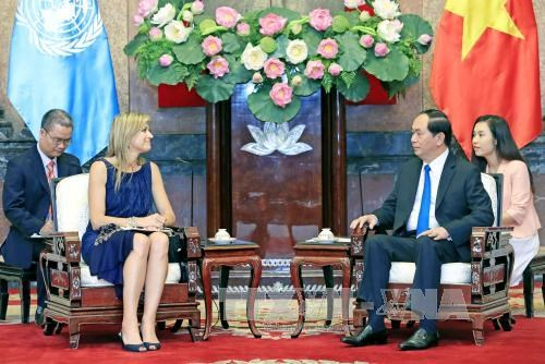 President welcomes Queen of Netherlands hinh anh 1