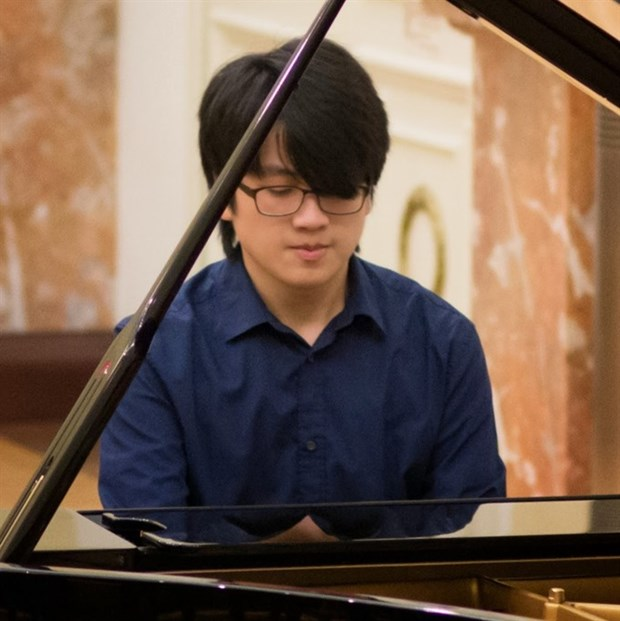 Vietnamese pianist wins first prize in international competition hinh anh 1