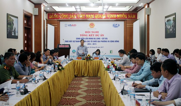 Project boosts local engagement for Ha Long Bay's sustainable development hinh anh 1