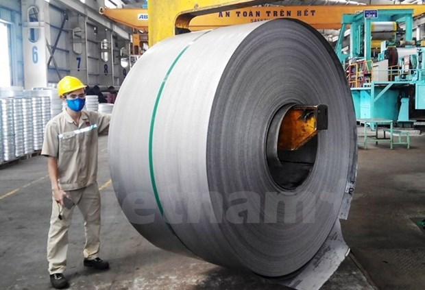 12,000 tonnes of iron sheets shipped to Europe hinh anh 1