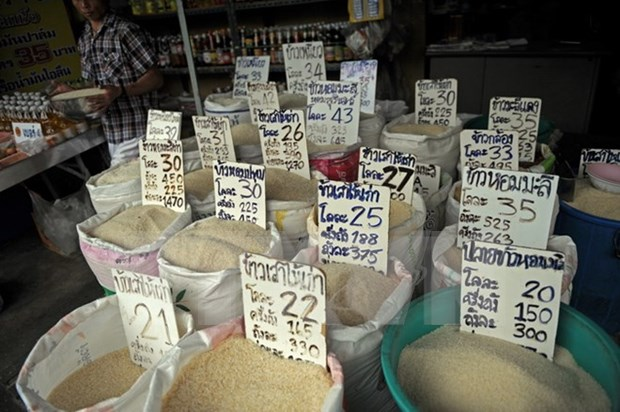 Price of Thai rice reaches 425 USD per tonne on global market hinh anh 1