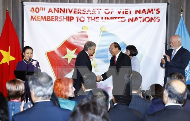 Int'l community hails Vietnam's contributions to UN hinh anh 1