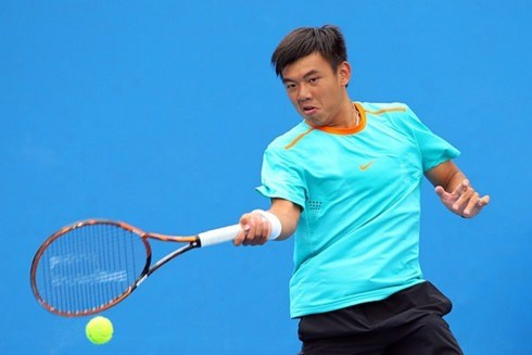 Top tennis player in second round of Singapore F2 hinh anh 1