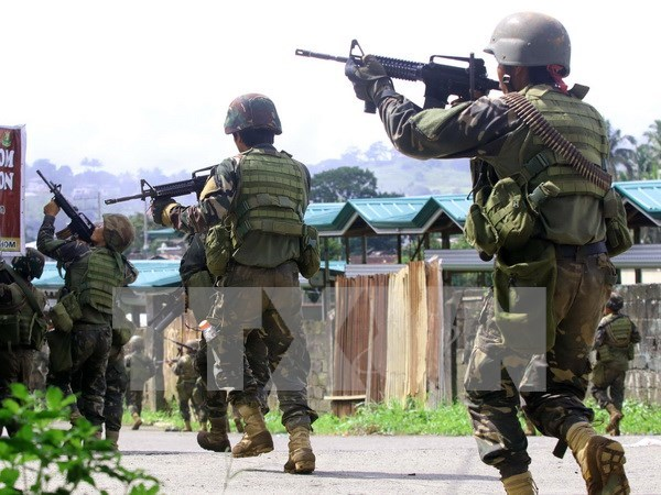 Ten Philippine soldiers killed in military air strike hinh anh 1