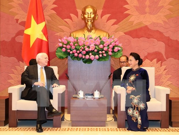 NA leader calls for US Congress support for increased trade hinh anh 1