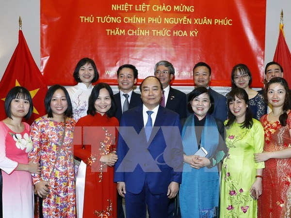Prime Minister Nguyen Xuan Phuc concludes official visit to US hinh anh 1