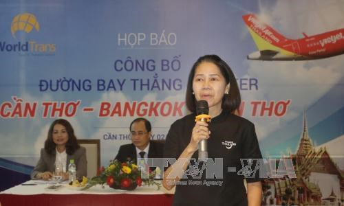 WorldTrans to open 10 Can Tho-Bangkok direct flights in summer hinh anh 1