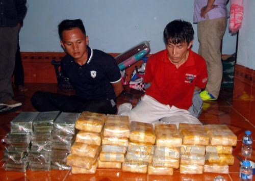 Vietnam, Laos bust major drug ring hinh anh 1