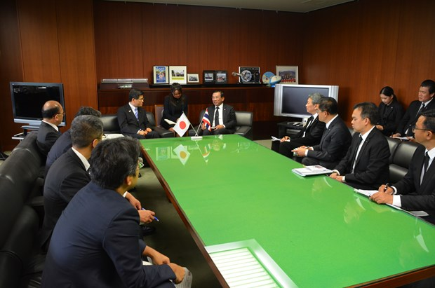Thai agriculture minister visits Japan hinh anh 1