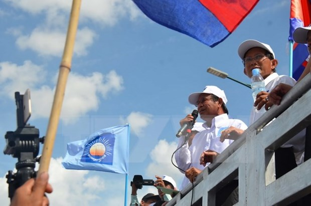 Cambodia wraps up campaign for communal elections hinh anh 1