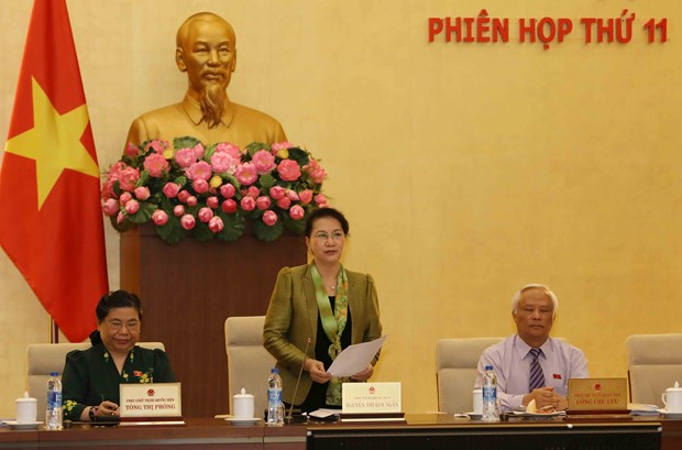 Standing Committee discusses issues to be added to NA's agenda hinh anh 1