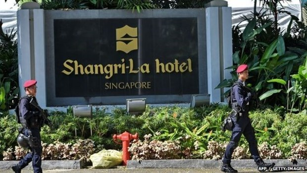 16th Shangri-La Dialogue underway in Singapore hinh anh 1